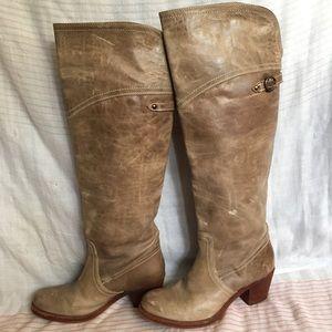 Frye Jane Tall Cuff Boots